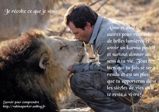 Rencontre personne aimant animaux