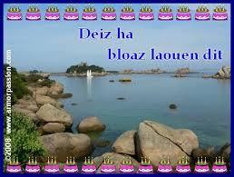 joyeux anniversaire chanson breton