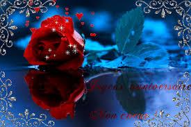joyeux anniversaire rose