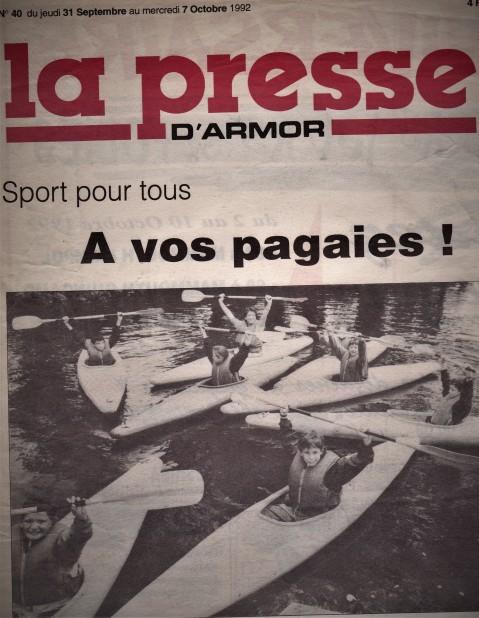 Octobre 92 Kayak Tréméven St Jacques (3)